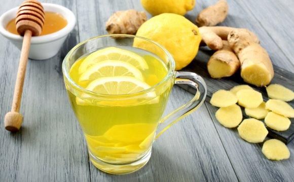 Напиток с медом и лимоном