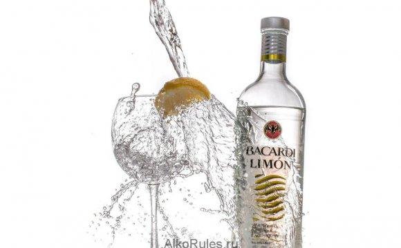 Бакарди лимон в бутылке. «