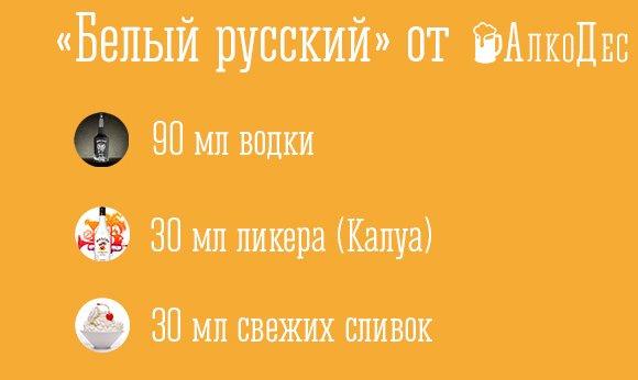 русский»: состав, рецепт