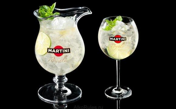 Готовый коктейль мартини рояле