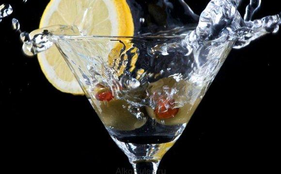 Мартини с соком лимона. «