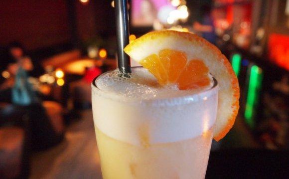 Молочный апельсиновый коктейль