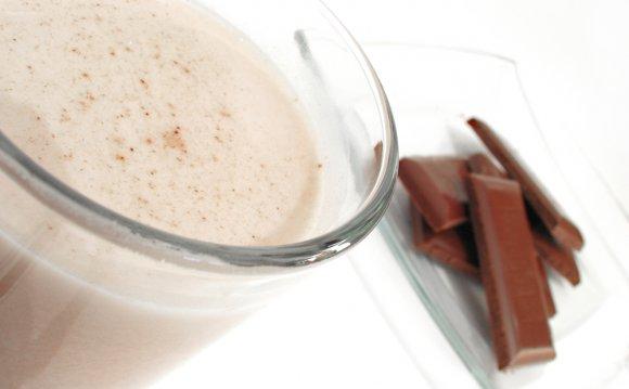 Молочный коктейль с шоколадным