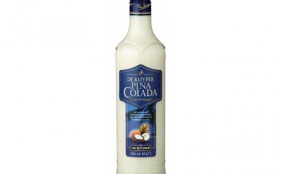 Как пить ликер Пина Колада?