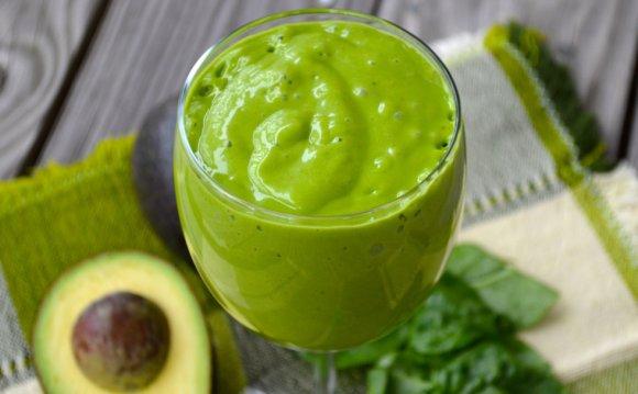 Зеленый смузи - рецепт